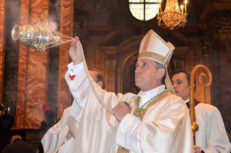 Omelia del vescovo Egidio per la Veglia Pasquale