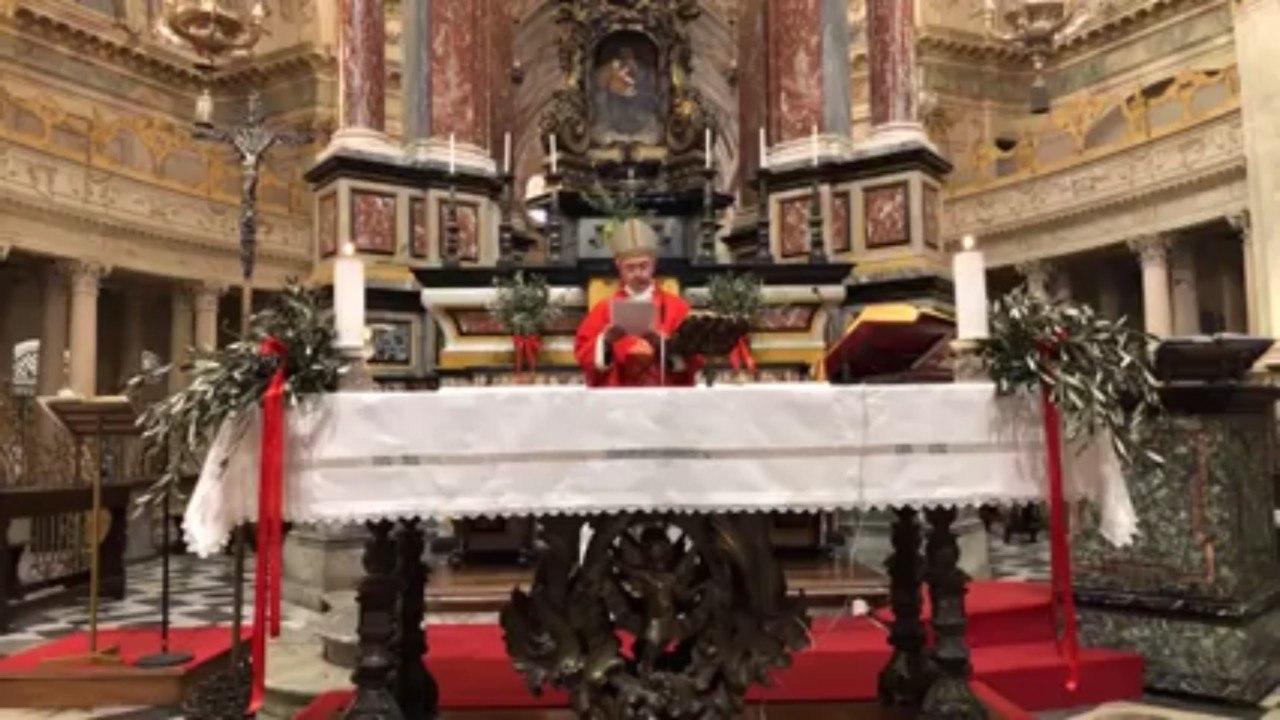 Omelia del vescovo Egidio per la Domenica delle Palme 2020