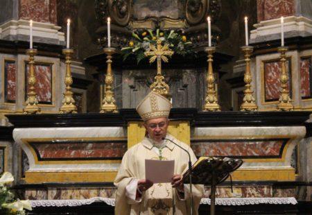 Omelia del vescovo Egidio per la solennità della SS. Trinità