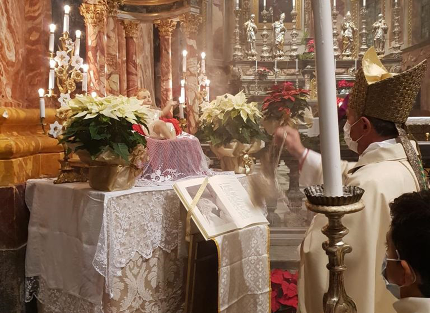 Omelia del vescovo Egidio per la Messa di Natale