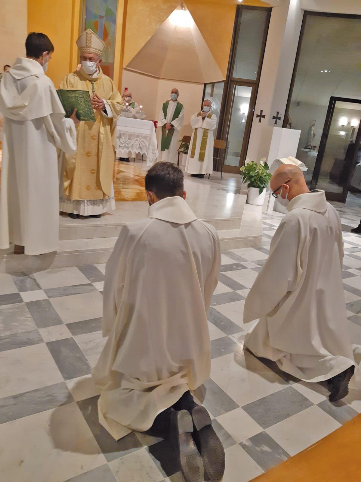 Omelia del vescovo Egidio – Giornata del Seminario / Lettorato di Cristiano Bellino e ad Adriano Stefanoni
