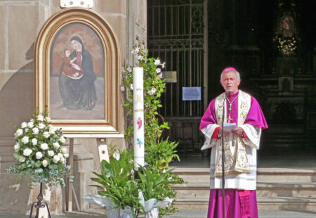 Omelia del vescovo Egidio per la solennità dell'Ascensione del Signore